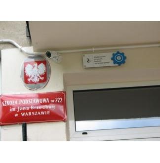 W Szkole Podstawowej Nr 222 im. Jana Brzechwy przy ul. Esperanto 7a został zrealizowany projekt w ramach Budżetu Partycypacyjnego w 2017 roku