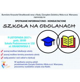 Spotkanie w sprawie szkoły na Odolanach